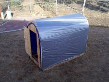 Complete plans to make an ice fishing portable for Cheap ice fishing shelters